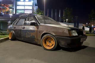 Жесть, как она есть: последний писк моды — ржавые машины! (16 ФОТО)