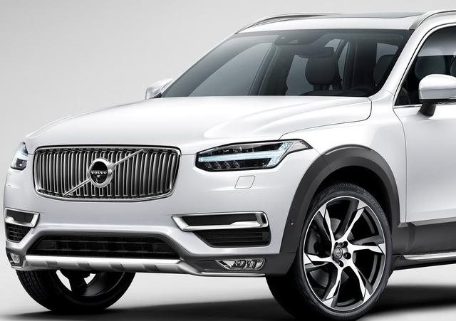 Volvo показал новый XC90
