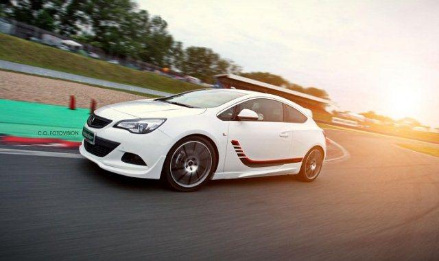 Opel Astra GTC Turbo от Irmscher