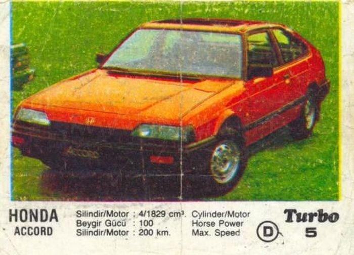 Пока был СССР: интересные факты о Honda Accord из вкладыша Turbo №5