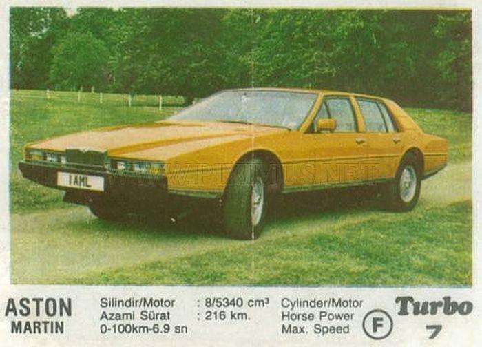Детские мечты: Aston Martin Lagonda как герой жвачки Turbo №7