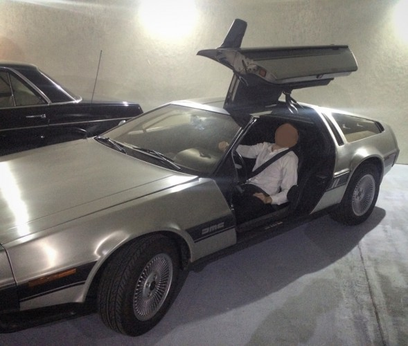 Козырно: у мэра Днепропетровска единственная в Украине машина времени DeLorean