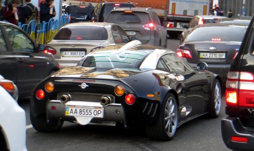 Киевлянин купил спорткар ручной сборки Spyker из фильма «Основной инстинкт»