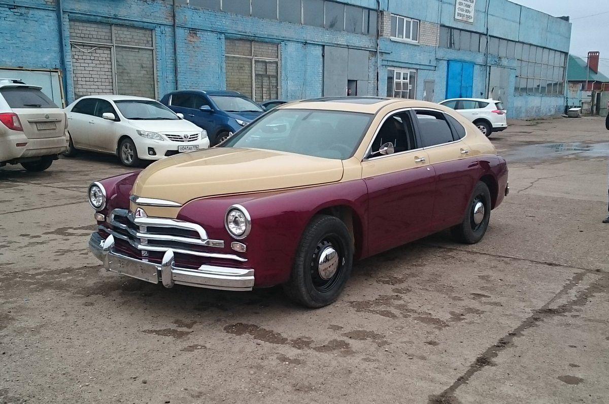 На продажу выставили ГАЗ М-20 Победа, сделанную из новенькой Хонды