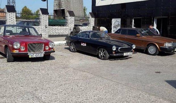 В Украине продают коллекцию редких автомобилей Volvo