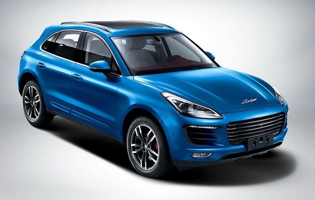 Zotye SR8: официальные фото китайской подделки Porsche Macan