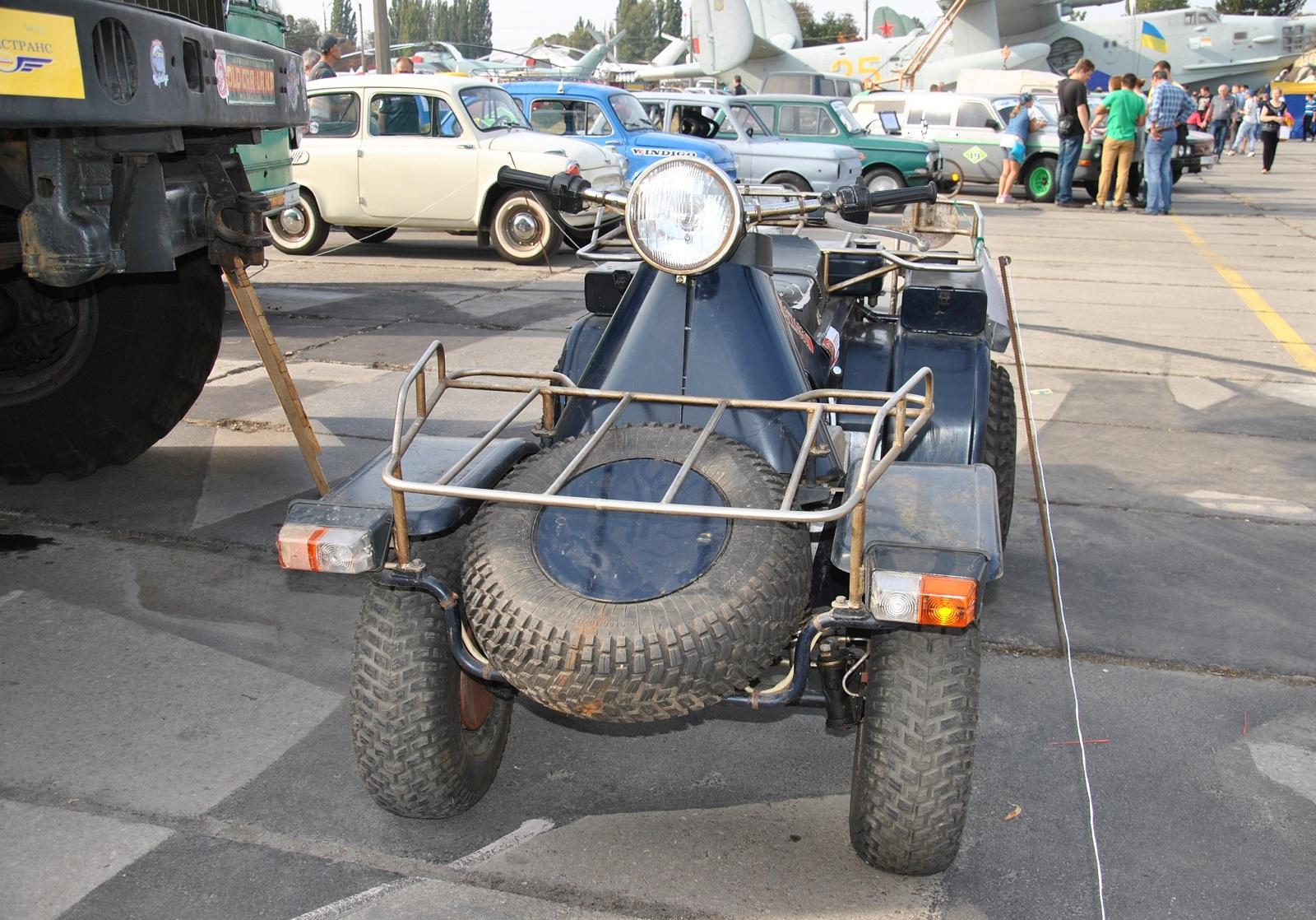 Почти танк! Украинский квадроцикл ЗИМ-350