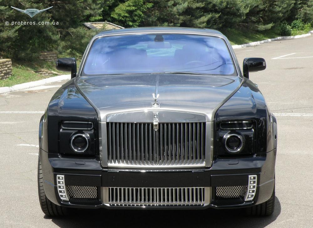 Иностранцам на зависть: украинский тюнинг Rolls-Royce!