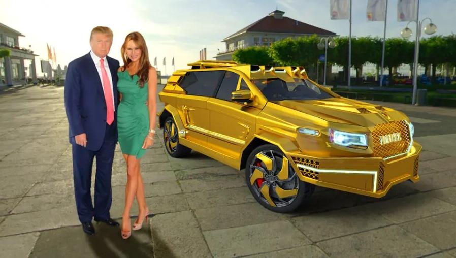 Эксклюзив! Лимузин Dartz для Дональда Трампа – первые изображения