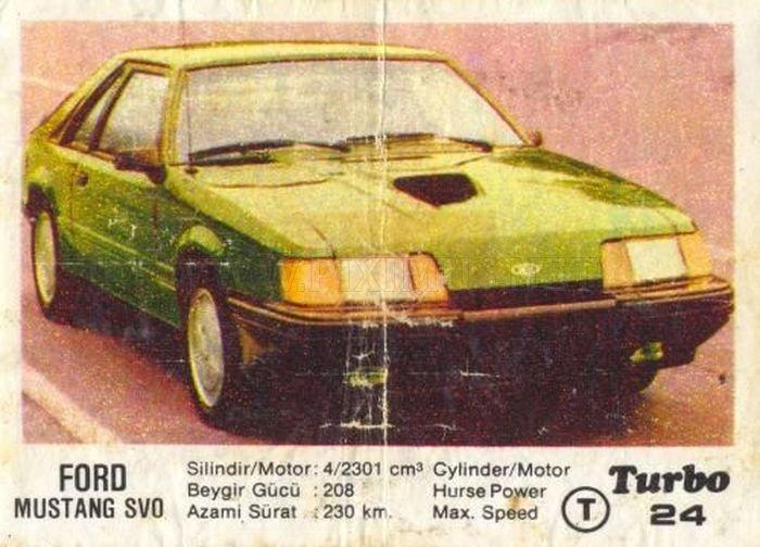 Американская легенда: Ford Mustang SVO с вкладыша Turbo №24
