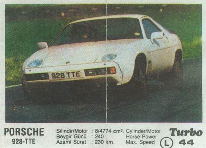Porsche 928: история самого авангардного Порше с вкладыша Turbo