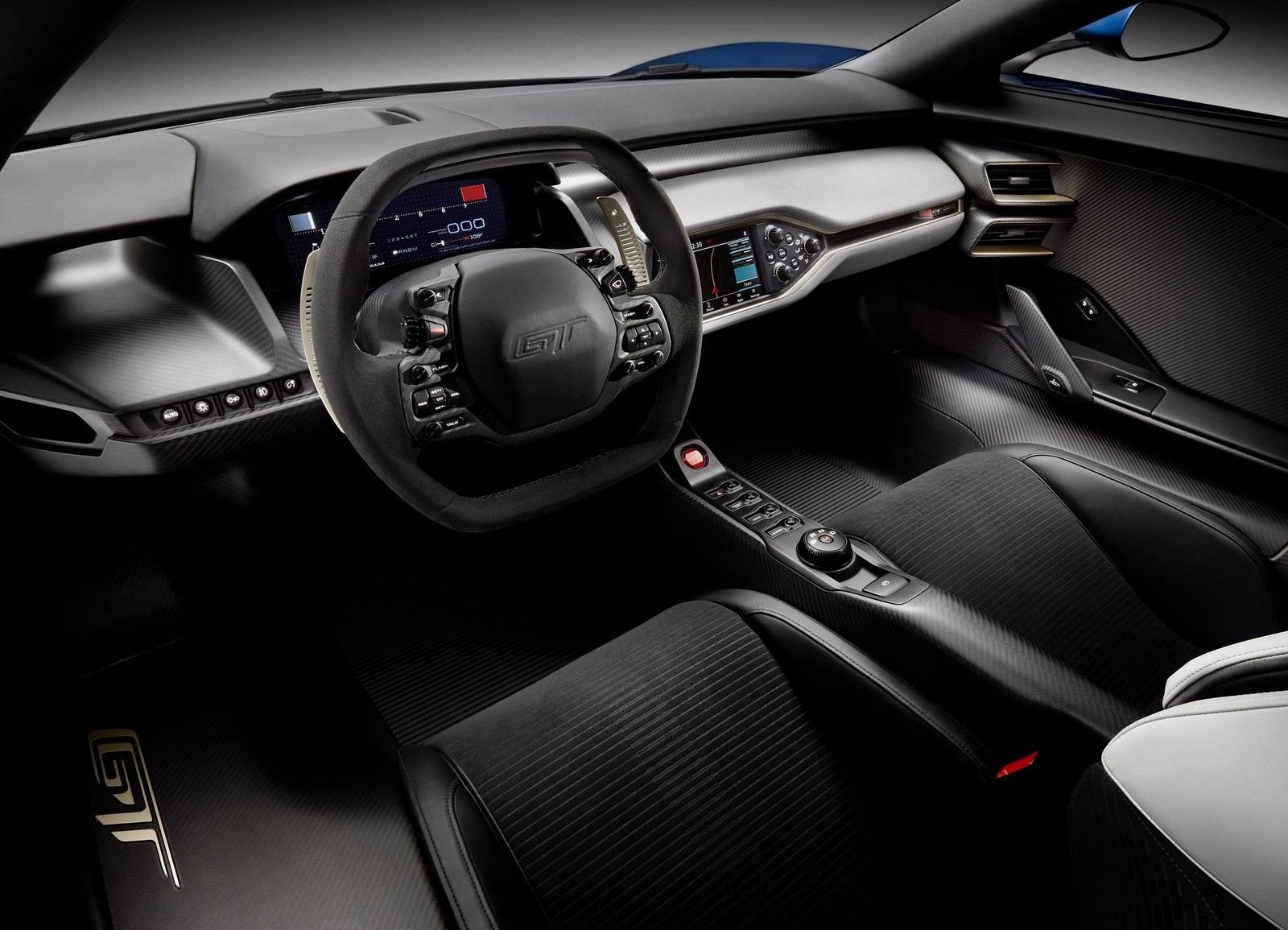 Суперкар Ford GT 2017: рассекречены все характеристики