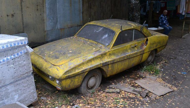 Обнаружено фантастическое купе ЗАЗ, о котором никто не слышал