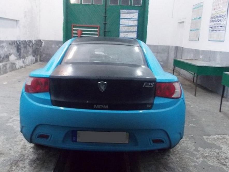 В Украину пытались ввезти украденный в Германии французский спорткар