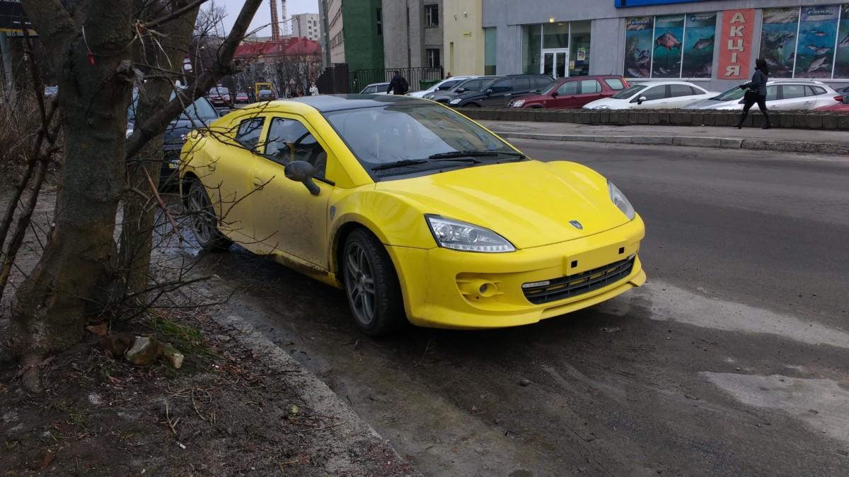 На украинских дорогах замечен спорткар Tagaz Aquila