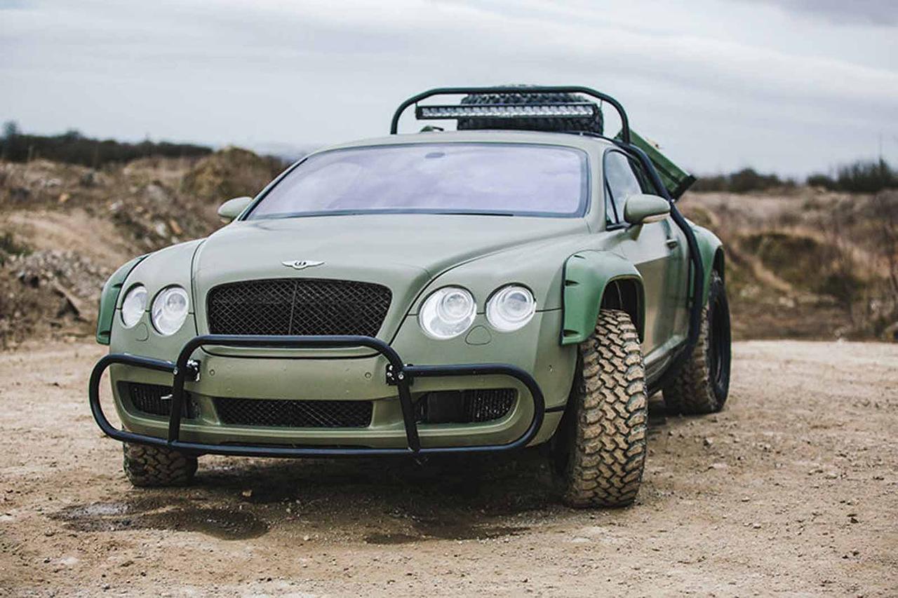 Новость одной картинкой: внедорожное купе Bentley Continental GT