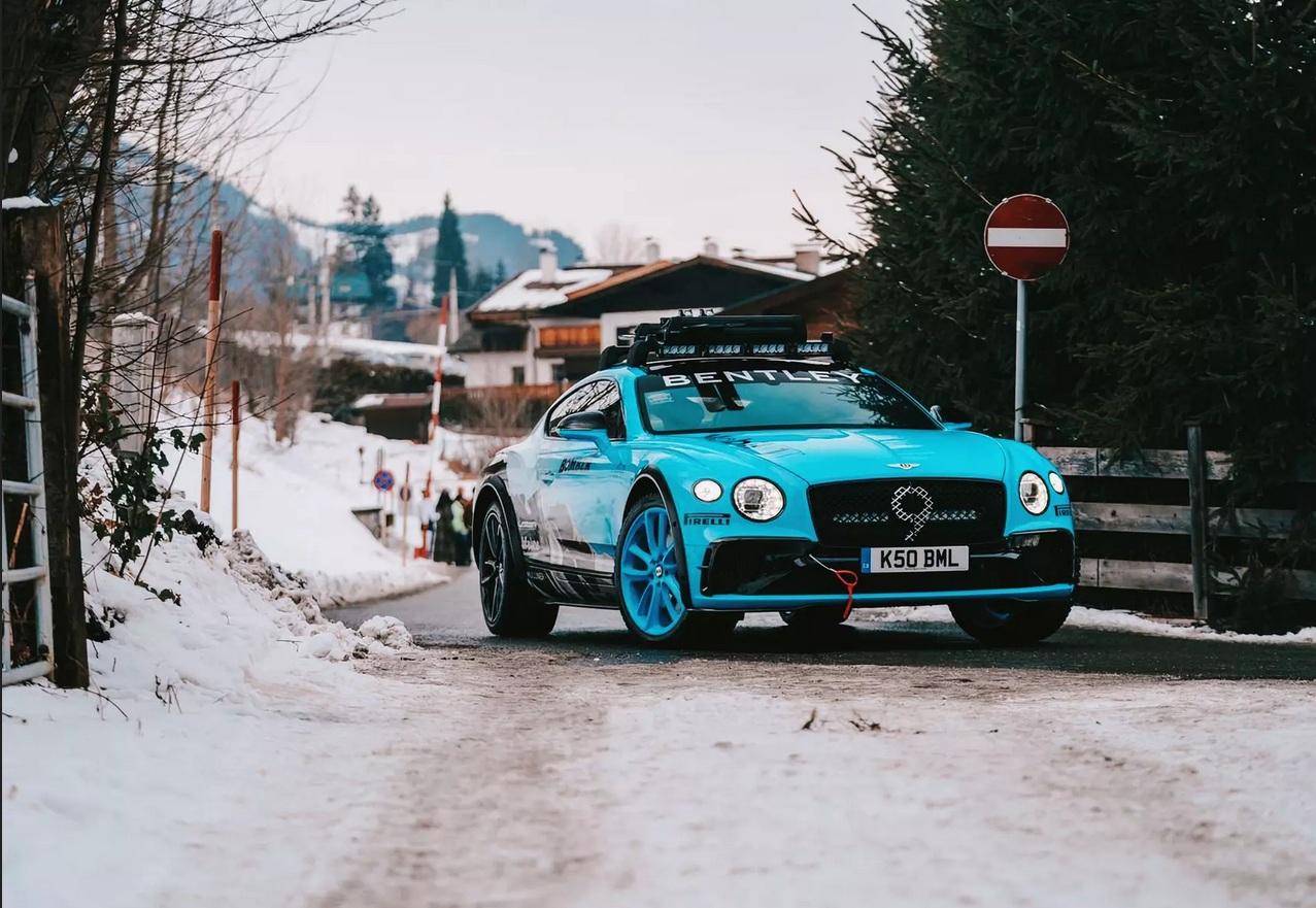 Bentley представили идеальный спорткар для украинских дорог