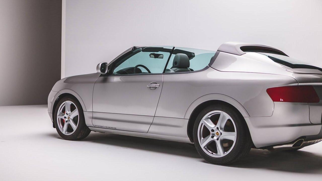 Уникальный кабриолет Porsche Cayenne, о котором никто не знает