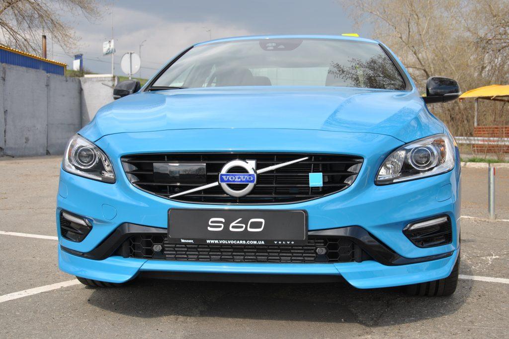 В Киеве появился самый заряженный седан Volvo
