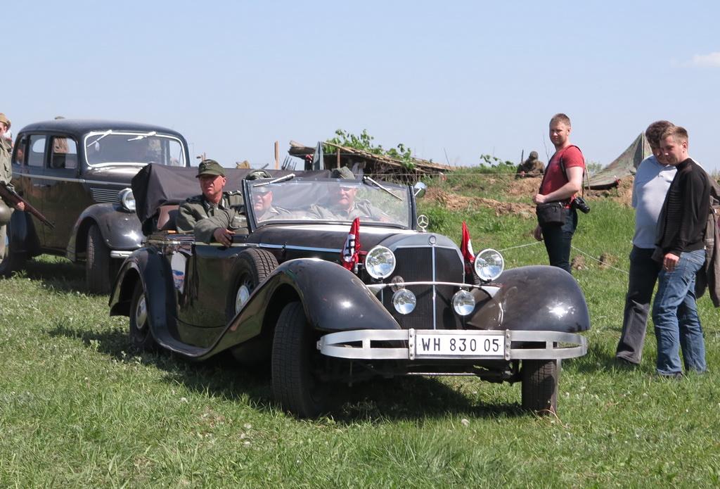 В Украине замечен раритетный Mercedes как у Гитлера