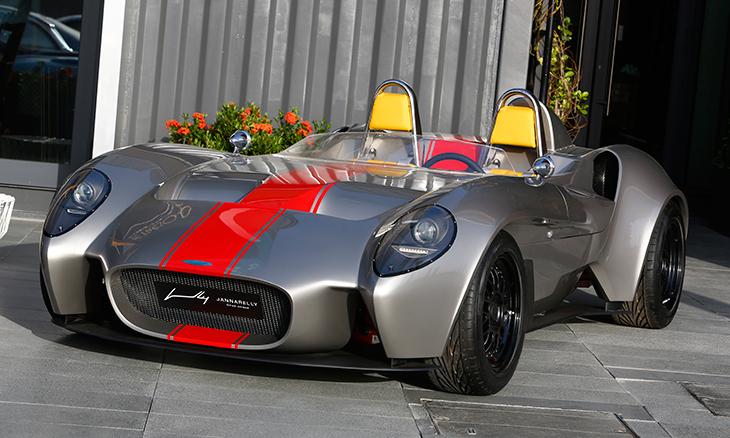 Первый спорткар из ОАЭ представили в Ле-Мане