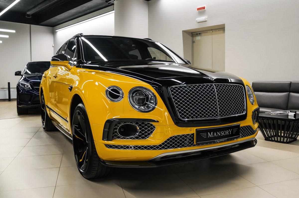 Самый эксклюзивный внедорожник Bentley Bentayga в Украине