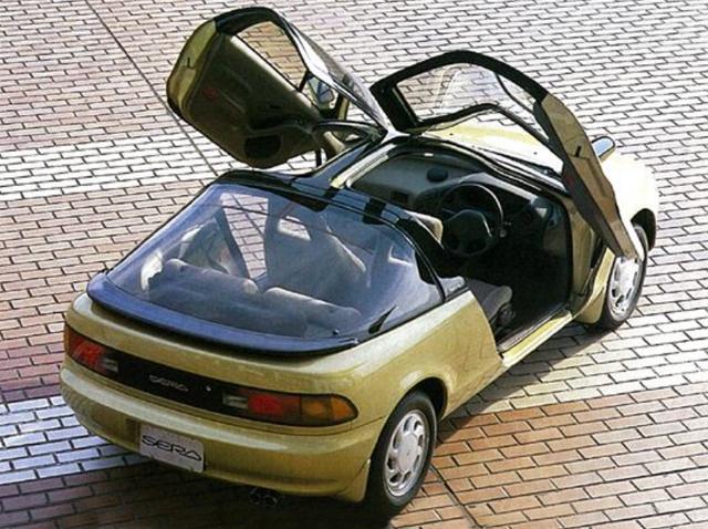 Toyota Sera: недорогой спорткар из 90-х, который впечатляет даже сейчас