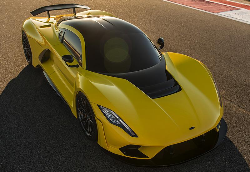 Американцы представили самый быстрый авто в мире