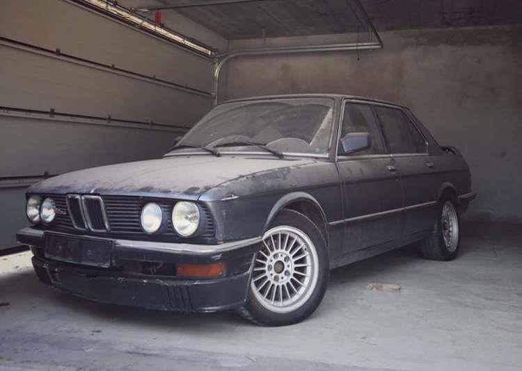 В Украине нашли две редчайших BMW Alpina в плачевном состоянии