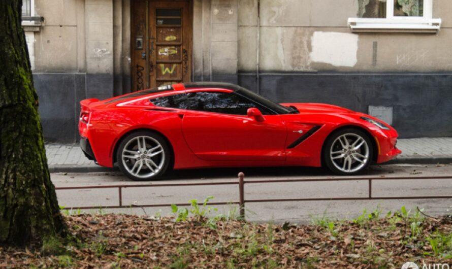 В Украине замечены два новых спорткара Chevrolet Corvette