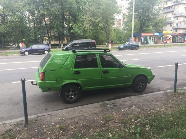 В Украине засняли единственный в своем роде универсал Славута