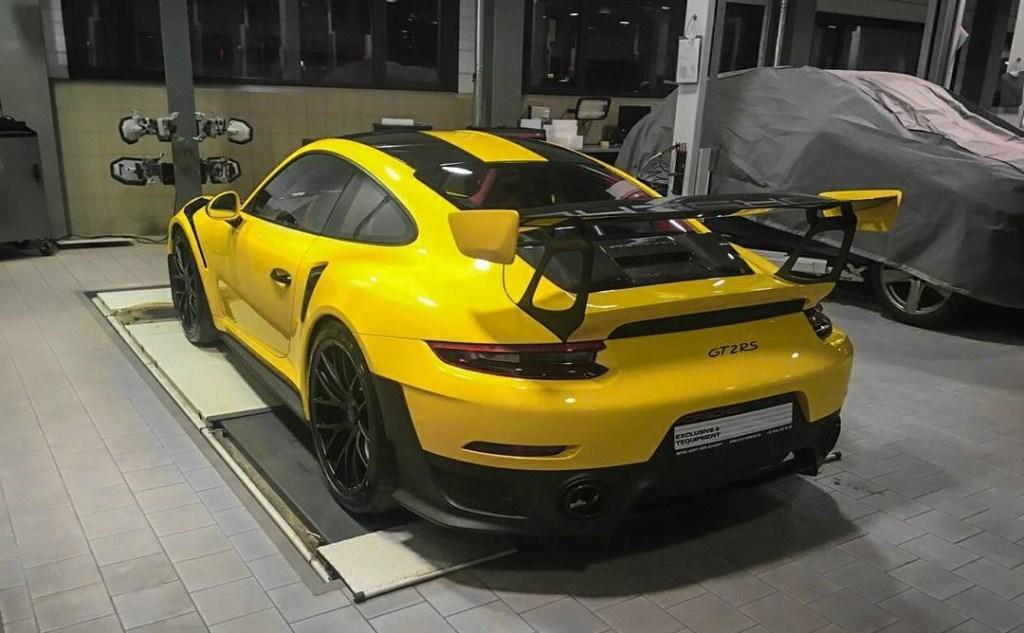 В Украине засветился самый быстрый Porsche 911 в истории