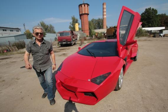 В Украине воссоздан самый редкий суперкар Lamborghini