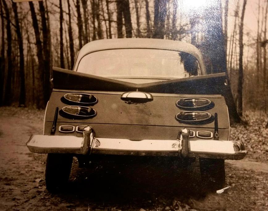Самый удивительный советский тюнинг ГАЗ-21 Волга
