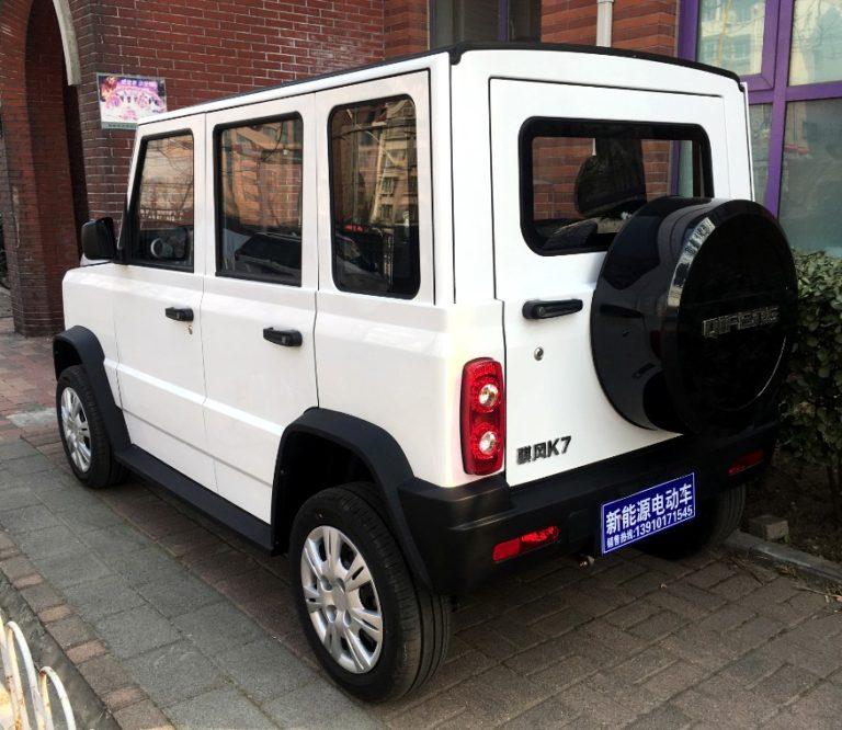 В Китае создали мини-Гелик с электромотором по цене Таврии
