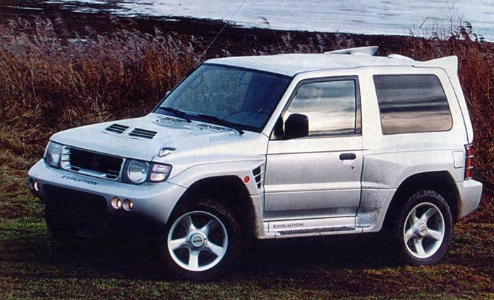 Редчайший спортивный Mitsubishi Pajero, о котором мало кто знал
