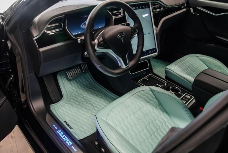 Чем уникальна единственная в Украине Tesla Model S Brabus