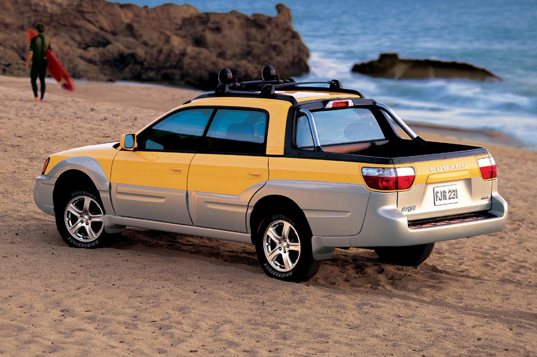 Малоизвестные автомобили Subaru о которых ты не знал