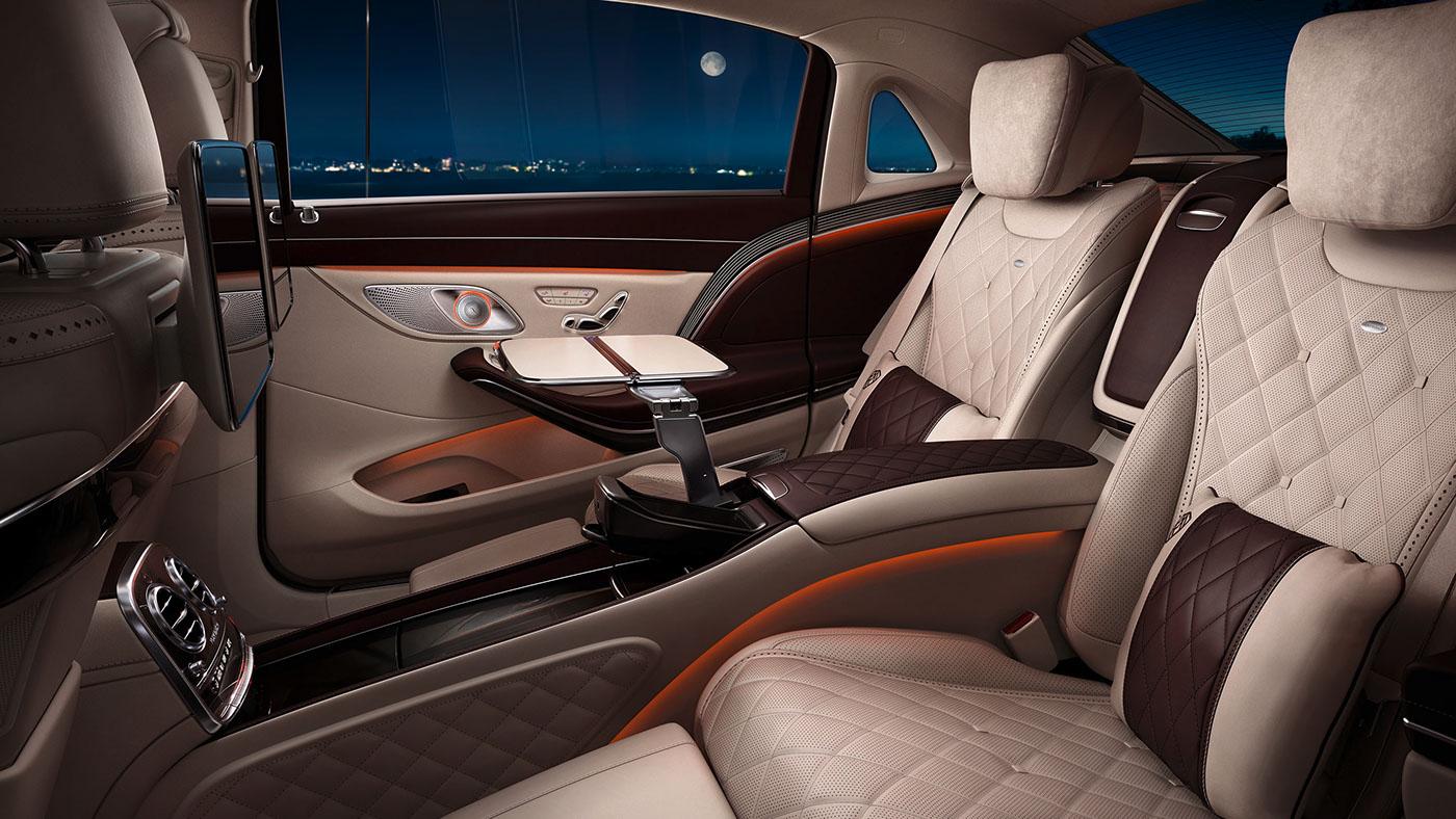 В Украине будут выпускать кресла для роскошных Mercedes и Maybach