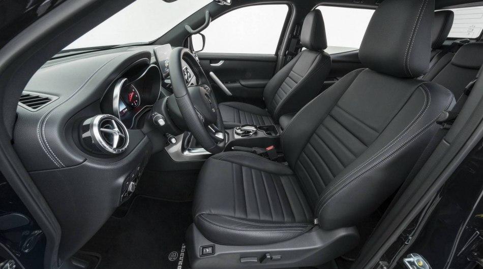 Новый пикап Mercedes Brabus показали на фото и видео