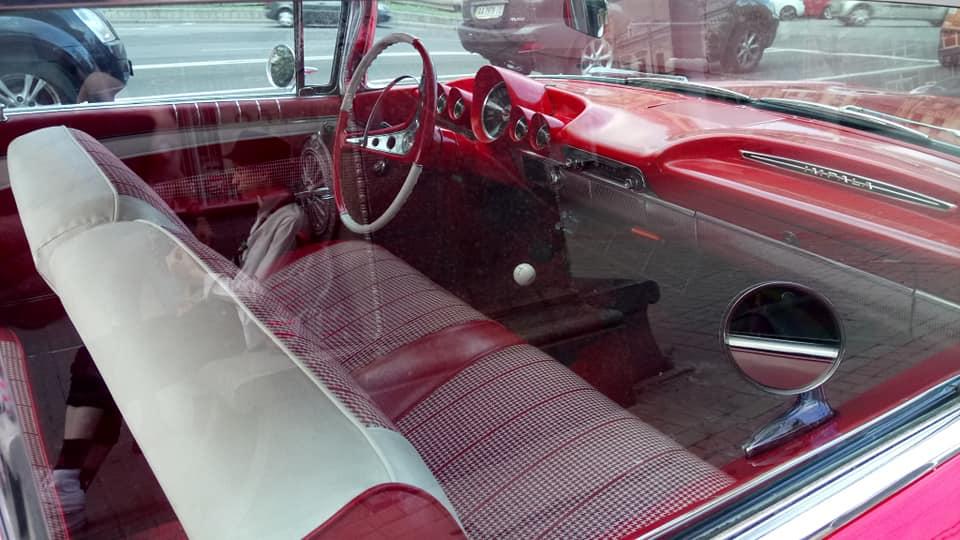 В Украине засняли культовый американский авто 60-х