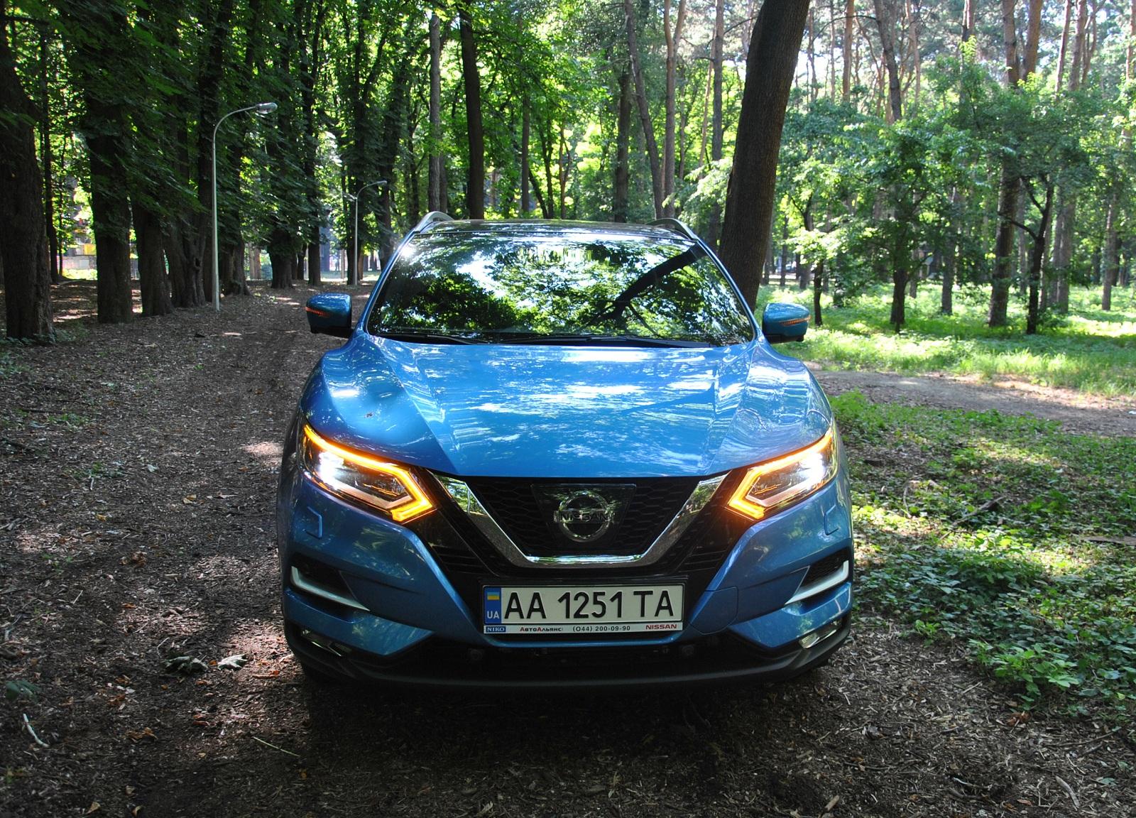 Тест-драйв Nissan Qashqai 2018: проверка дальней дорогой по Украине