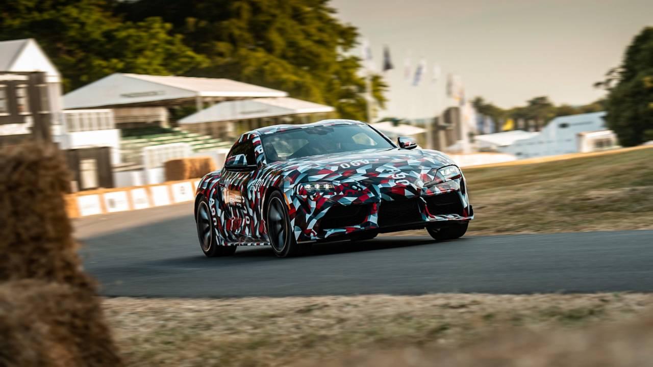 Новая Toyota Supra 2019 впервые засветилась на публике