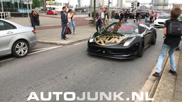 Голландцев шокировала тюнингованная Ferrari из Украины
