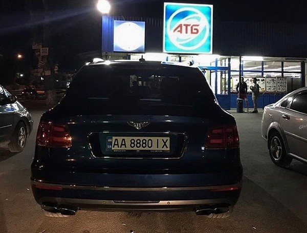 В Украине засняли кроссовер Bentley Bentayga в очень необычном месте