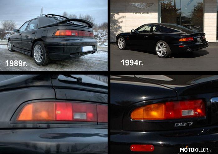 Что общего у Aston Martin DB7 и Mazda 323