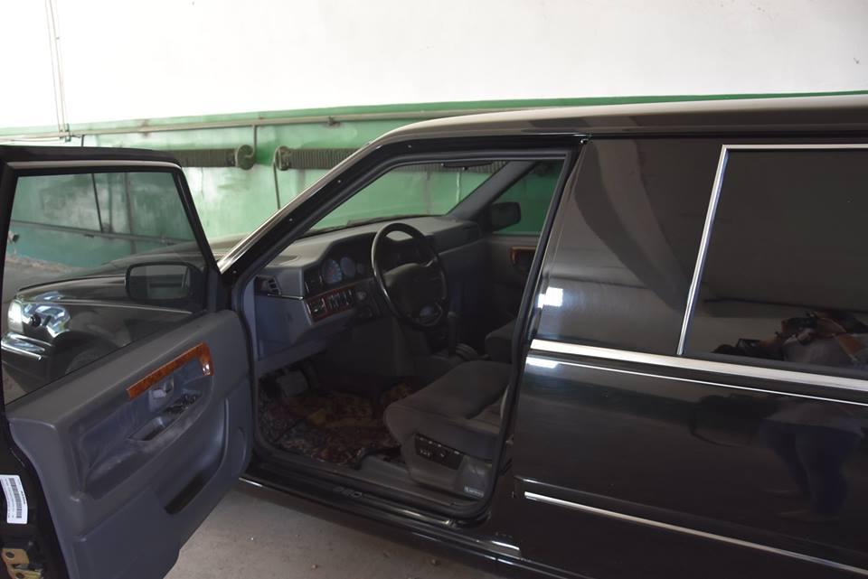 Обнаружен раритетный лимузин президента Украины