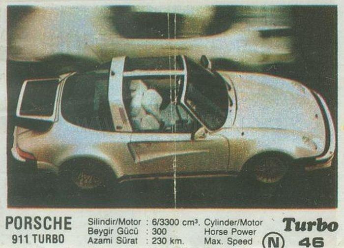 Интересные подробности самого необычного Porsche 911 с вкладыша Turbo