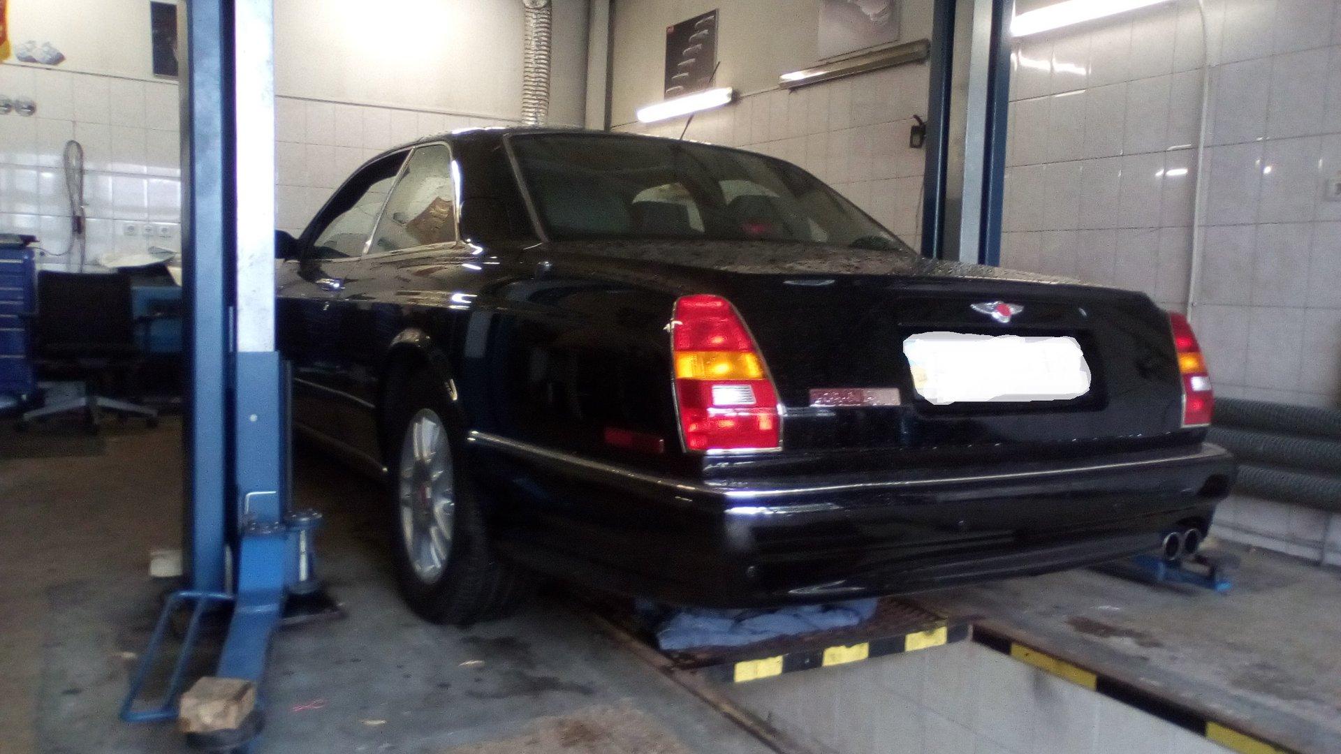 В Украине засняли раритетный Bentley лимитированной серии
