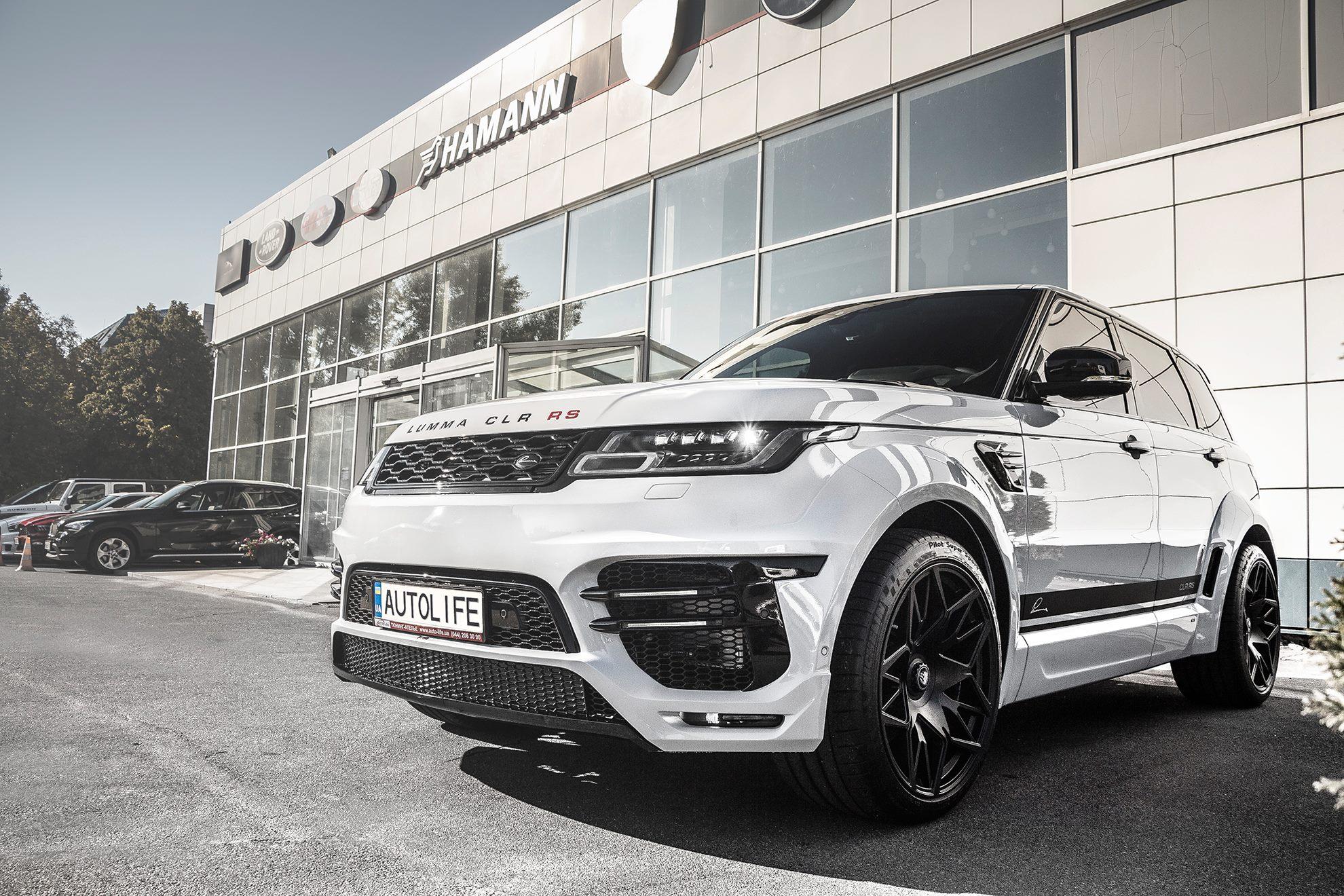 В Украине появился новый Range Rover Sport Lumma CLR RS